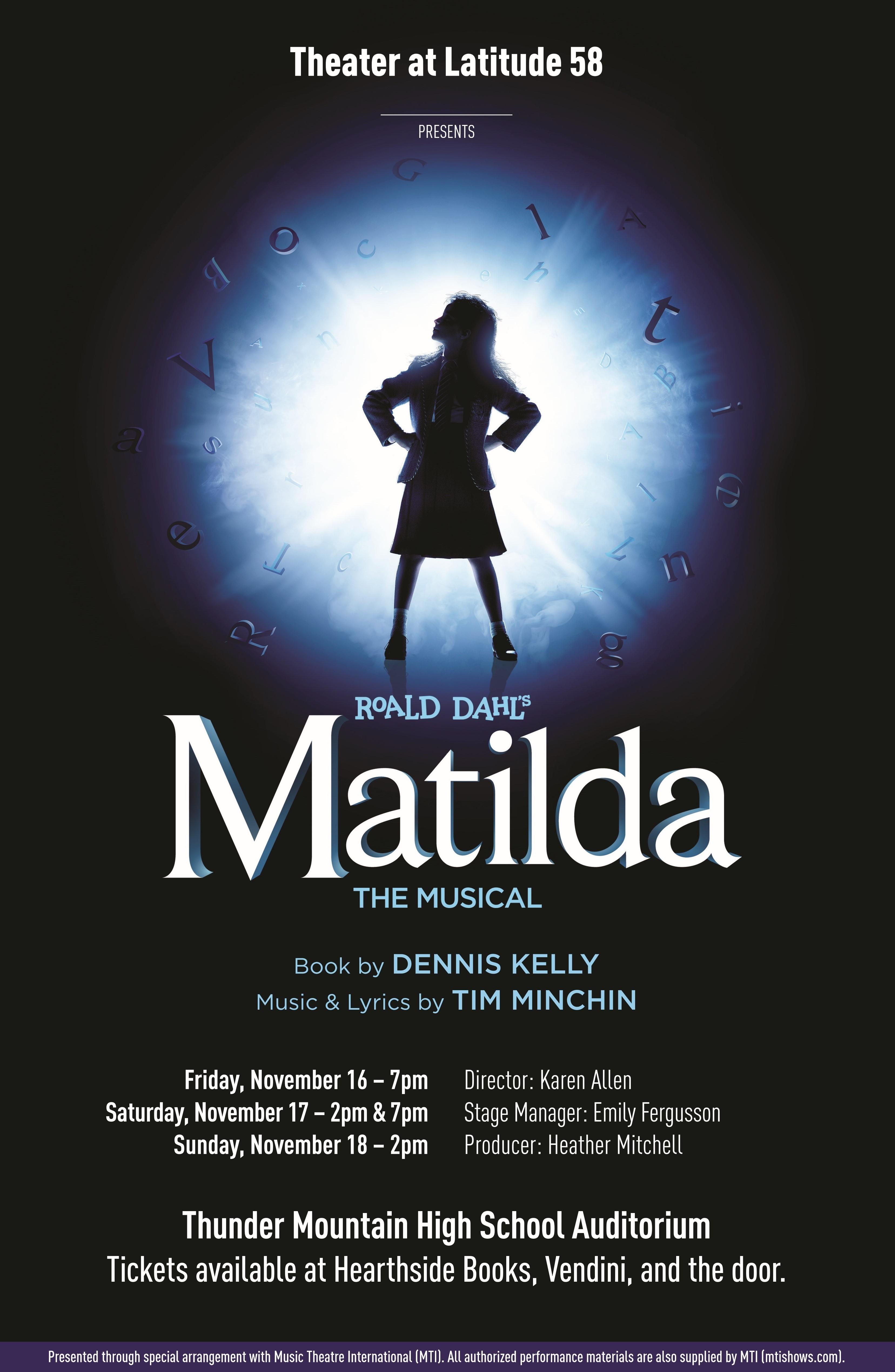 Matilda tickets on sale!