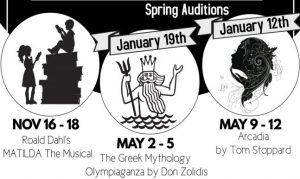Auditions for The Greek Mythology Olympiaganz