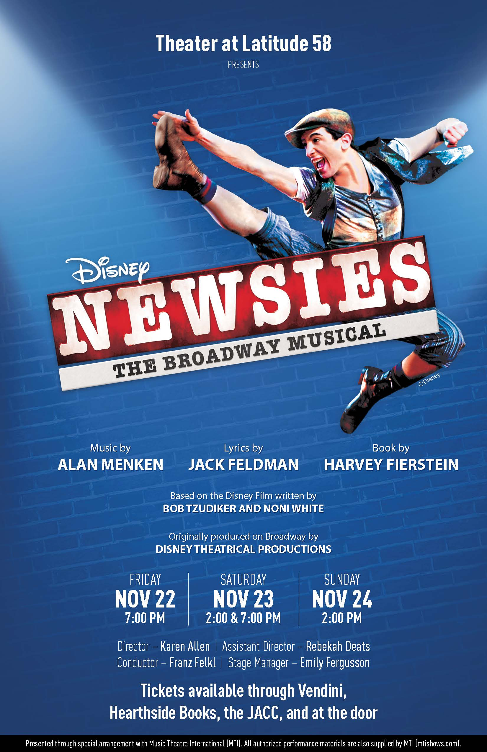 Newsies @ Thunder Mountain High School | Juneau | Alaska | United States